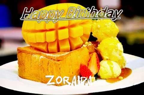 Birthday Wishes with Images of Zoraida