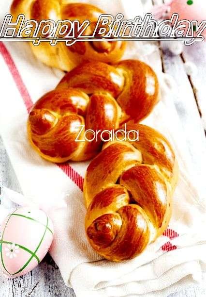 Happy Birthday Wishes for Zoraida