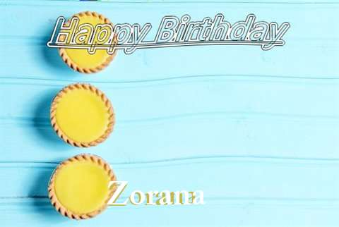 Birthday Wishes with Images of Zorana