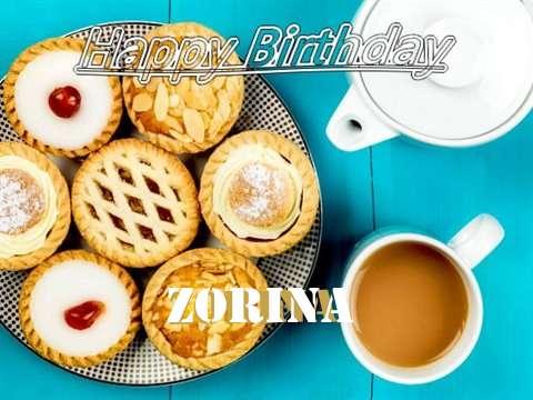 Happy Birthday Zorina