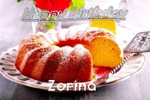 Zorina Birthday Celebration