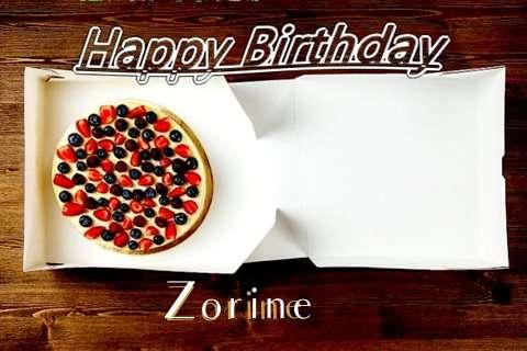 Happy Birthday Zorine