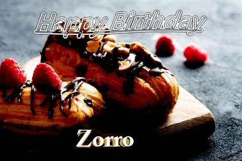 Happy Birthday Zorro