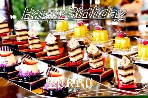 Birthday Images for Zorro