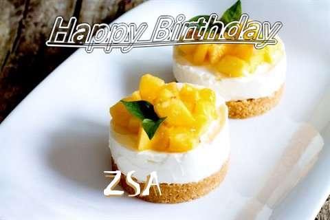 Happy Birthday to You Zsa