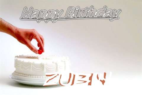 Happy Birthday Cake for Zubin