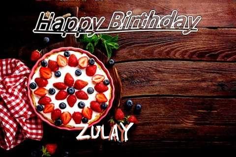 Happy Birthday Zulay Cake Image