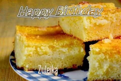 Happy Birthday Zuleika