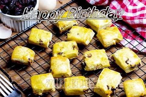 Happy Birthday to You Zuleika