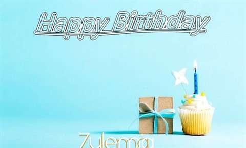 Happy Birthday Cake for Zulema