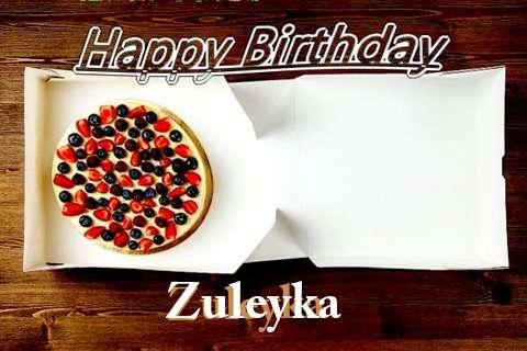 Happy Birthday Zuleyka