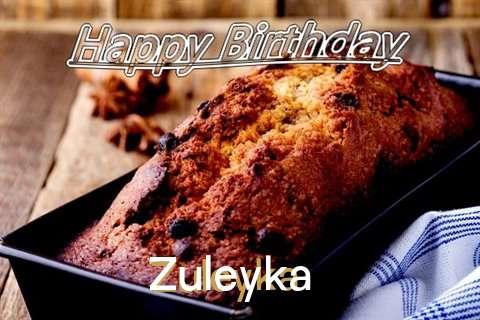 Happy Birthday Wishes for Zuleyka