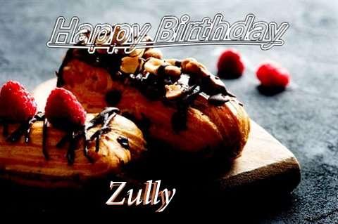 Happy Birthday Zully