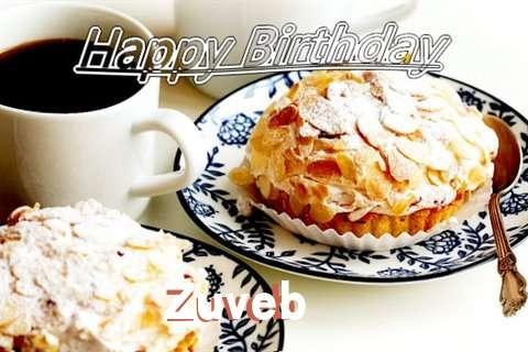 Birthday Images for Zuveb